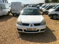 2008 Renault Clio SL15dCi Campus 70 Van [65PS] CAR DERIVED VAN Diesel Manual