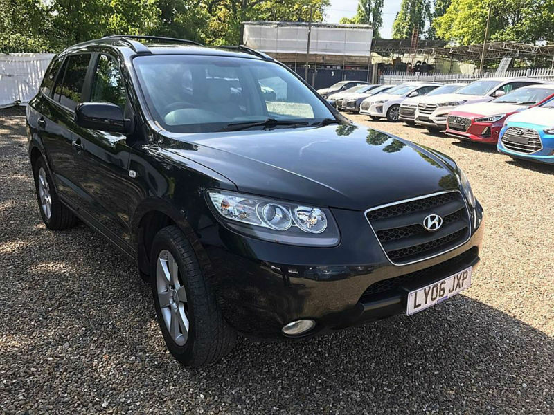 hyundai santa fe 2 7 v6 auto cdx rare 4x4 7 seater automatic low mileage in broadstairs. Black Bedroom Furniture Sets. Home Design Ideas