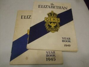 13 HIGH SCHOOL, COLLEGE and UNIVERSITY YEAR BOOKS