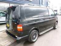 2008 Volkswagen TRANSPORTER T5 T28 102 TDI SWB Van *BLACK* Manual Medium Van