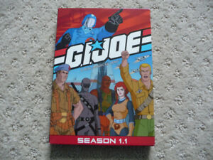 Season 1.1 of G.I. Joe on DVD