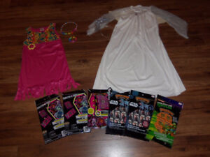 COSTUMES HALLOWEEN FILLES 7-8 ANS * $5 CHACUN* PLUS COLLANTS