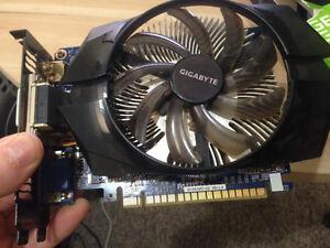 Nvidea GeForce GTX 650 1GB Graphics Card (Still Available)