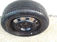 Mercedes A class up to 04 plate steel wheel and good tyre