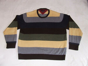 Tommy Hilfiger Long Sleeve Striped Sweater - $23.00