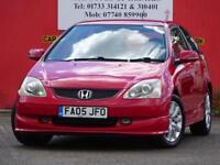2005 Honda Civic 1.6i VTEC Sport - GREAT S/H - 12 MONTH MOT