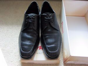Sioux Germany Ratilo Black Leather Dress Shoes