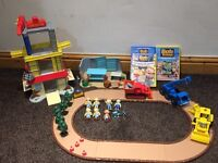 Bob builder toys and DVDs