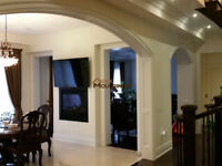 CUSTOM MILLWORKS, INTERIOR TRIM, WAINSCOTING, COFFERED CEILINGS