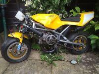 Blatta mini moto, Walter cooled not a cheap engine one !