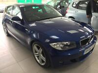2006 BMW 130 3.0 2006MY i M Sport Long Mot Low Miles only 76.000
