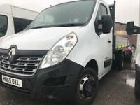RENAULT MASTER VAN ML35 BUSINESS DCI L-R TIPPER DRW White Manual Diesel, 2015