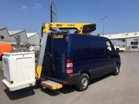 Mercedes-Benz Sprinter 2.1TD 309CDI SHORT WHEEL BASE CHERRY PICKER VAN