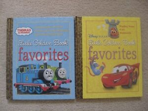 Thomas The Tank Engine And Disney Pixar Harcover Books