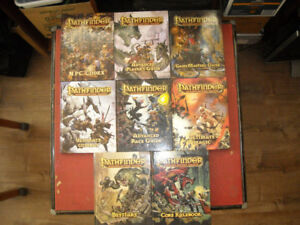 Pathfinder rpg books 8, located in Penticton