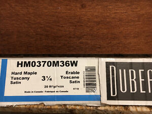 Hard Maple flooring, $1 sq ft