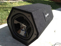 Barely used SONY Xplode sub and amp combo