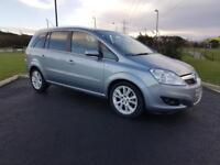 Vauxhall/Opel Zafira design 1.9 DIESEL automatic 7 seater