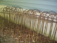 ANTIQUE PORCH RAILING OVER 100 YRS OLD