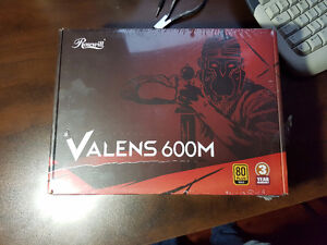 Valens 600m power supply 600w 80 plus gold certified