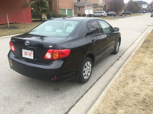 2010 Toyota Corolla Automatic with VVTi Engine