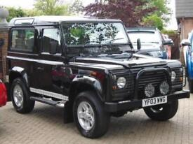 2003 03 Reg Land Rover 90 Defender 2.5Td5 County CSW (68000 Miles)