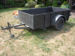 FS - Small Utility Trailer - 4inch 6ft x 8 inches