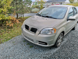 2009 Pontiac Wave. (Chevrolet Aveo) LOW KMS!