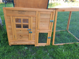 Timber Chicken Coup. Almost new.