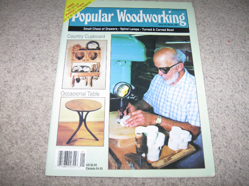Popular Woodworking Magazine Issues 1990 95 With Plans 5 Each