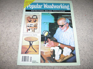 Popular Woodworking Magazine Issues-1990-95 with plans-$10 each