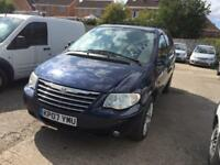 Chrysler Grand Voyager 2.8CRD auto LX 7 SEATER - 2007 07-REG - 10 MONTHS MOT