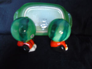 Watermelon Salt and Pepper Shakers with Sand Timer 'Japan' Peterborough Peterborough Area image 7