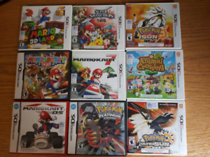 3DS and DS Game Bundle for Sale!