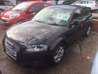 Audi A3,1.6 tdi sportback 59 plate £30 tax