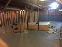 HANDYMAN ! ... Framing / Drywall / Basement Reno's ...
