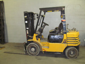 Yellow Caterpillar Forklift at AUCTION!
