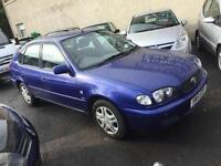2001 Toyota Corolla 1.4 GS 5dr