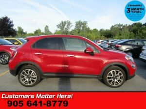 "2017 Fiat 500X Trekking  ROOF CAM LEATHER BT 18""ALLOYS REMOTE"