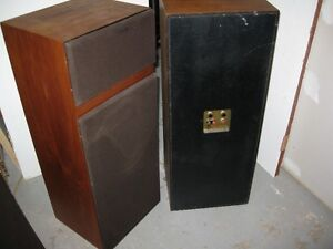Stereo Speakers - RTR from the 1970's