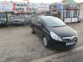 2007 VAUXHALL CORSA 1.4 CLUB 3 DOOR 90 BHP