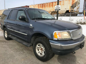 1999 Ford Expedition xlt 4x4 8 SeaterCLEANTITLE CAR PROOF SAFETY