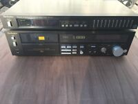 Technics StereoTuner and Cassette Deck