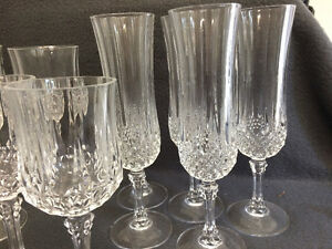 Collectible Antique Large Lot of Crystal Stemware London Ontario image 4