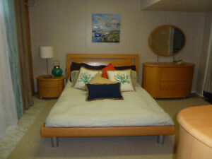 Male for Large Quiet Furnished Bsmt Room Wifi & Utilities Incl.