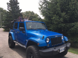 2015 Jeep Wrangler Unlimited. Carproof will be provided