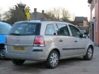 VAUXHALL ZAFIRA 1.6 LIFE 2007/57 2 OWNERS FROM NEW