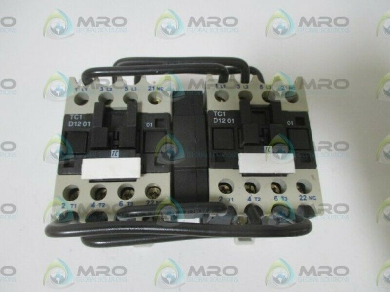 SHAMROCK CONTROLS TC1-D12-01-G6 CONTACTOR 120V * NEW NO BOX *