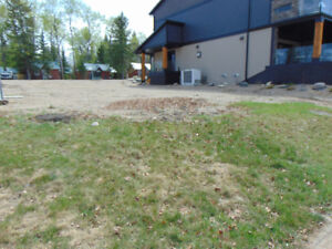 Commerical Building site Waskesiu for Sale