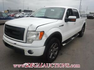 2010 FORD F150 FX4 SUPERCREW 4WD